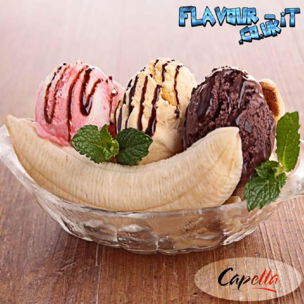 Capella Banana Split Flavour Drops